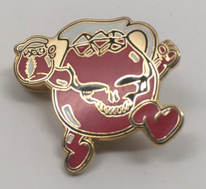 Kool-Aid Stealie Pin (Gold, Vintage 2012)