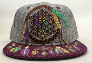 Dreamcatcher Hat (Vintage, Missing Top Button, Size 7 1/8)