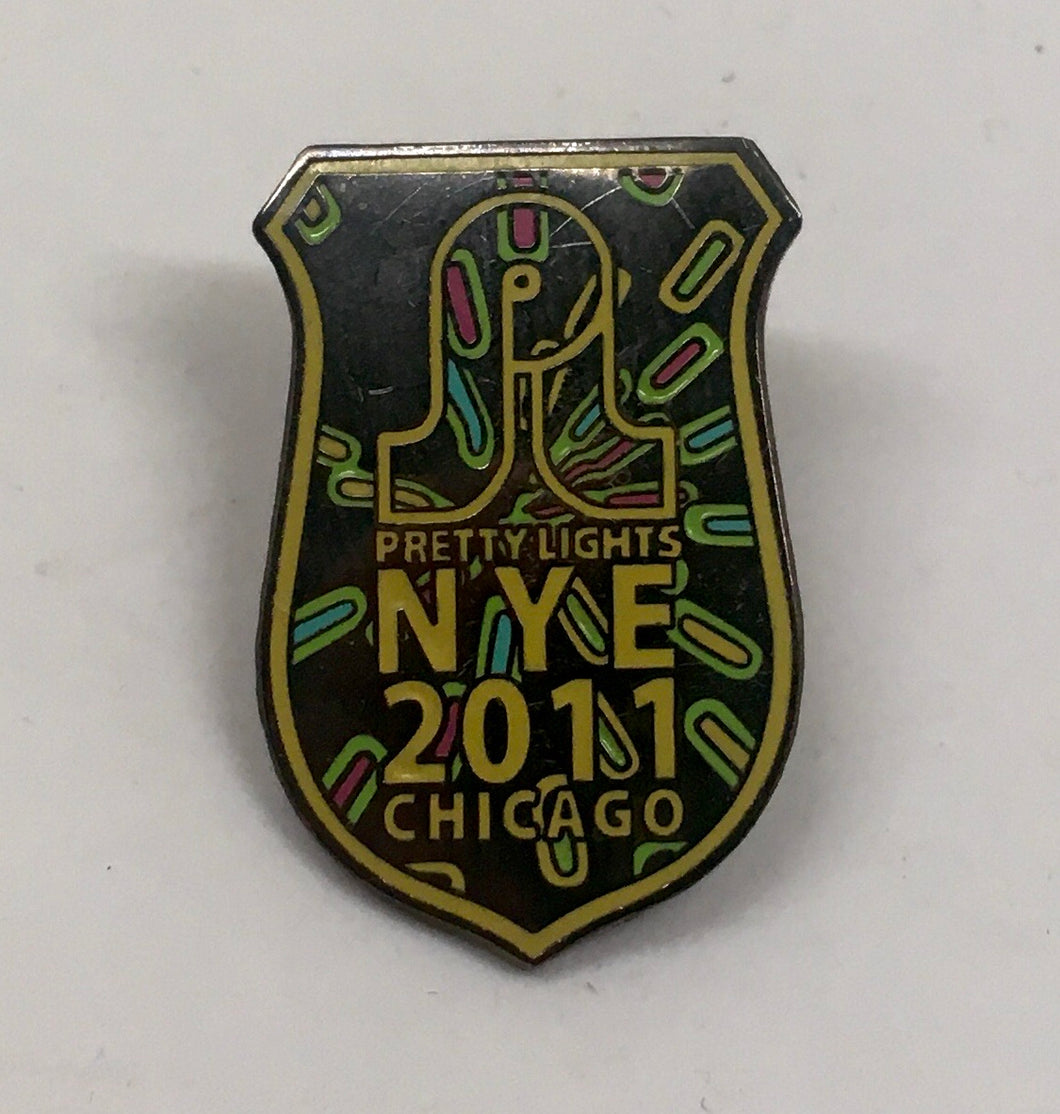 Pretty Lights NYE Pin (Vintage 2010)
