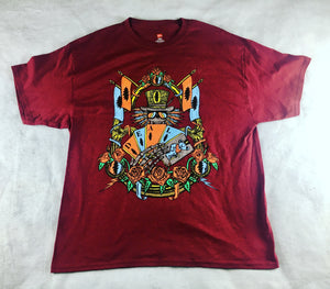 Deal Shirt (Red, Gold & Silver Metallic, XLarge, Vintage 2012)