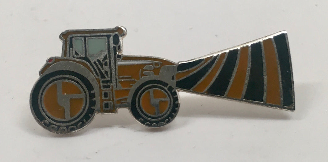 Tractorbeam Pin (Orange, Vintage 2010)