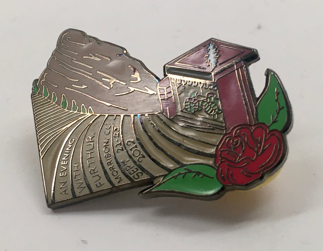 Further Red Rocks Pin (Vintage 2012)
