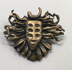 Shpongle Pin (Antique Gold, Vintage 2011)