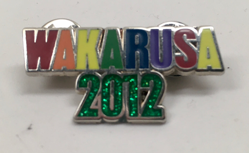 Wakarusa Pin (Silver, Vintage 2012)