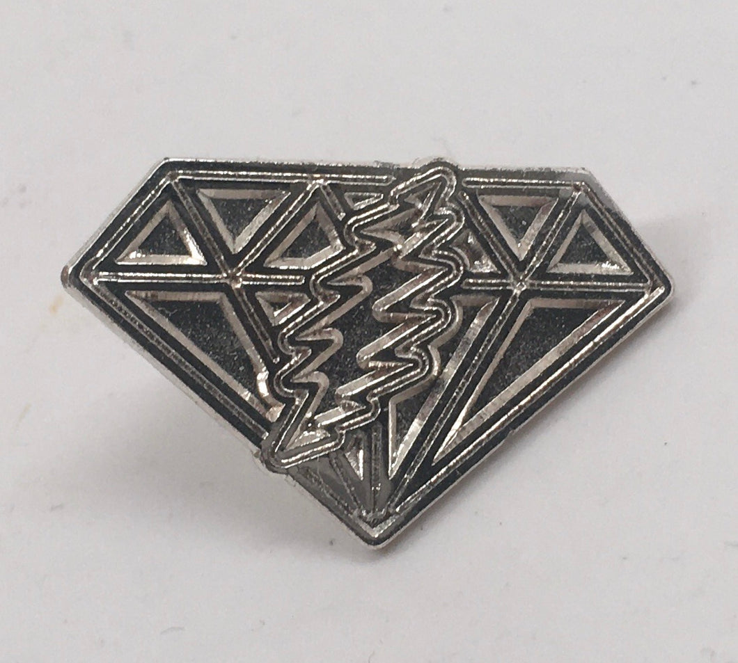 GD Dupree's Diamonds Blues Pin (Silver)