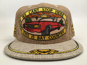 Bat Country Hat (Tan, Vintage, Missing Top Button, Size 7 1/2)