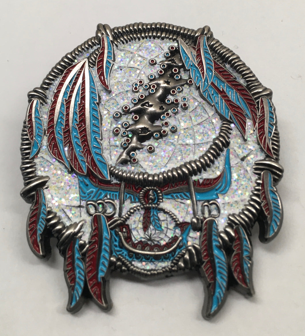 GD Dreamcatcher Pin (Silver, Vintage 2014)