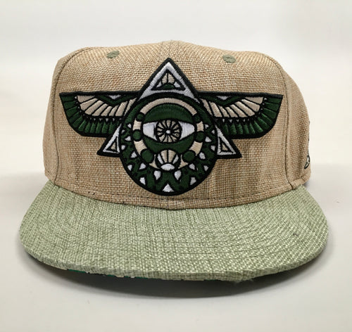 Flying Third Eye Hat (Size 7, Missing Cap Button)