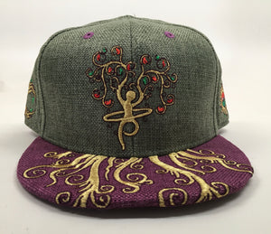 Roots Run Deep Hat (Size 7 5/8, Missing Cap Button)