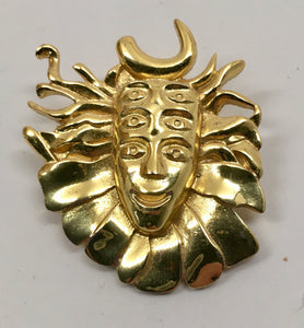 Shpongle Pin (Gold, Vintage 2011)