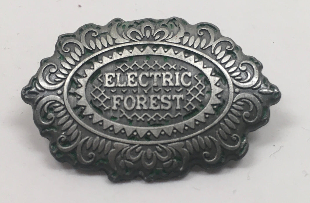 Electric Forest Pin (Silver, Vintage 2013)
