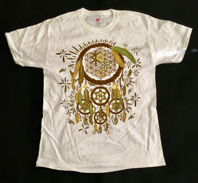 Dreamcatcher Shirt (Earthtones, White)
