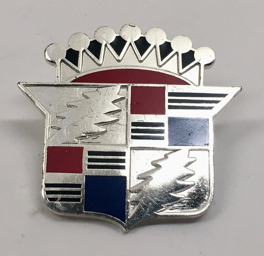 Not Fade Away Cadillac Pin (Silver, Vintage 2013)