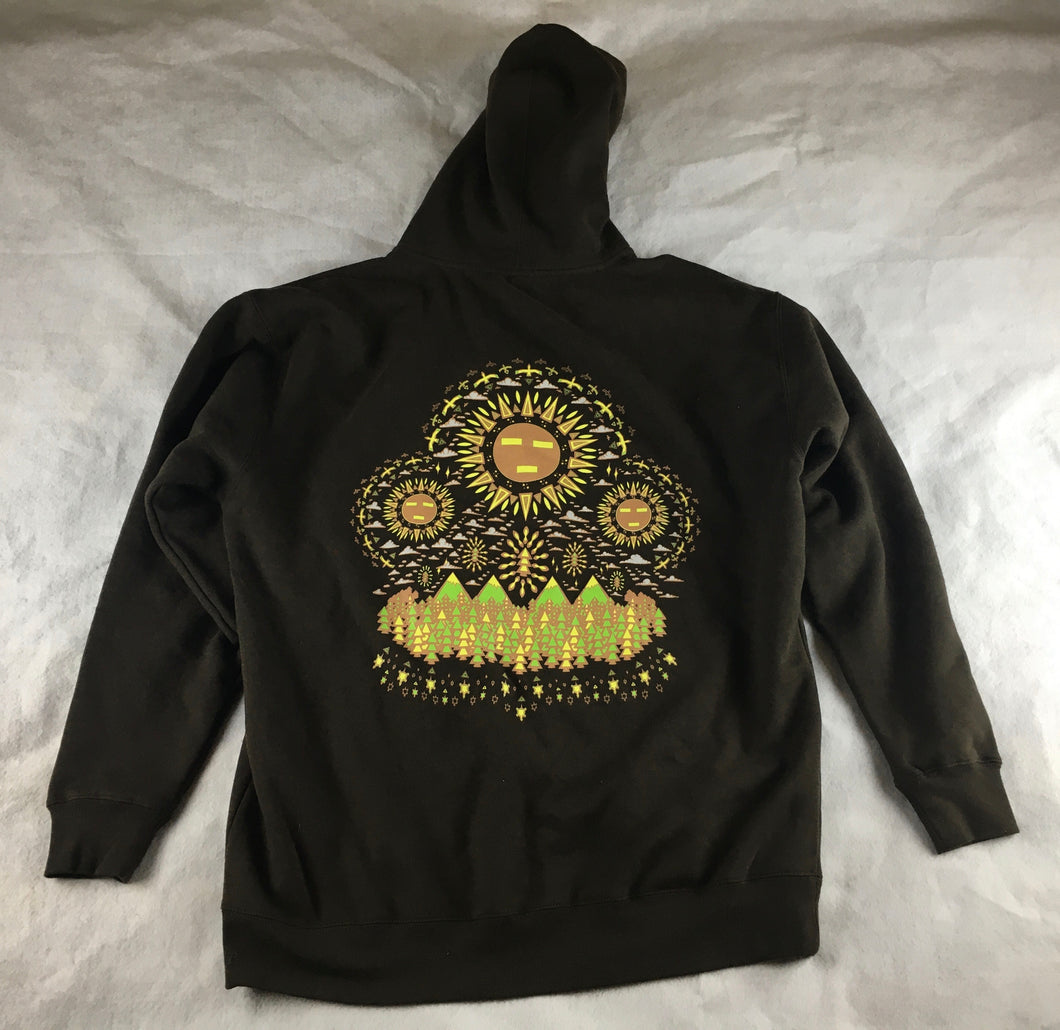 Spirit Guide Hoodie (Thick Brown, XLarge, Vintage 2012)