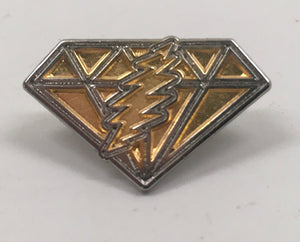 GD Dupree's Diamonds Blues Pin (Two Tone Gold & Silver)