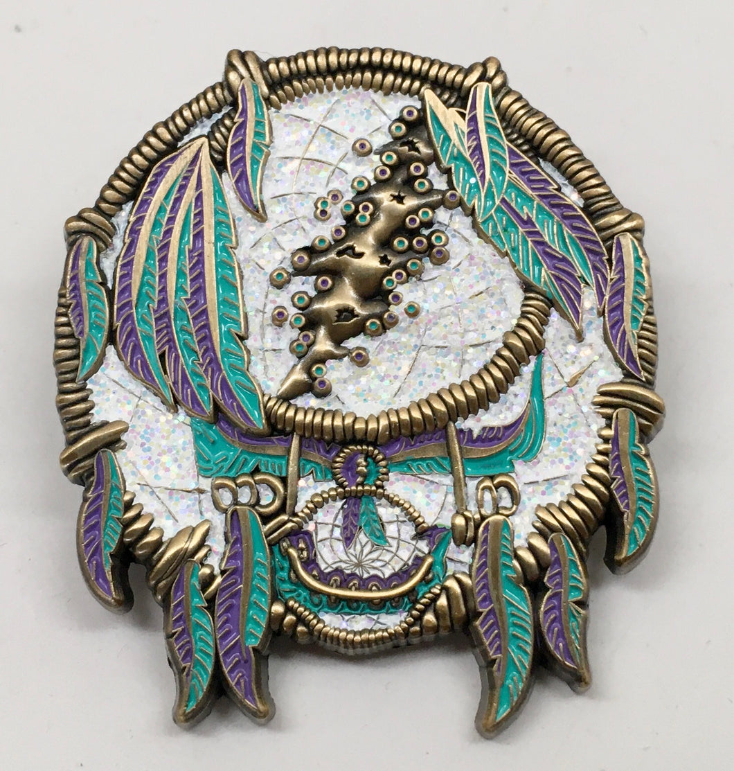 GD Dreamcatcher Pin (Purple & Teal, Vintage 2014)