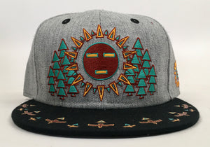 Spirit Guide Hat (Vintage, Missing Top Button, Size 7 1/4)