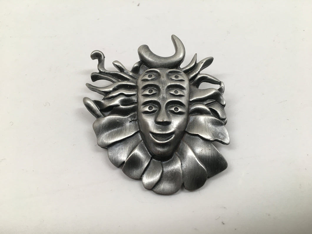 Shpongle Pin (Antique Silver, Vintage 2011)