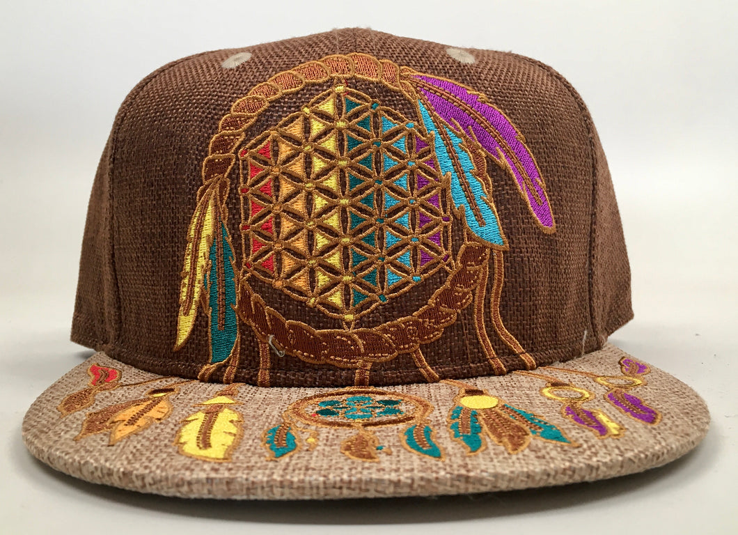Dreamcatcher Hat (Vintage, Missing Top Button, Size 7 1/4)
