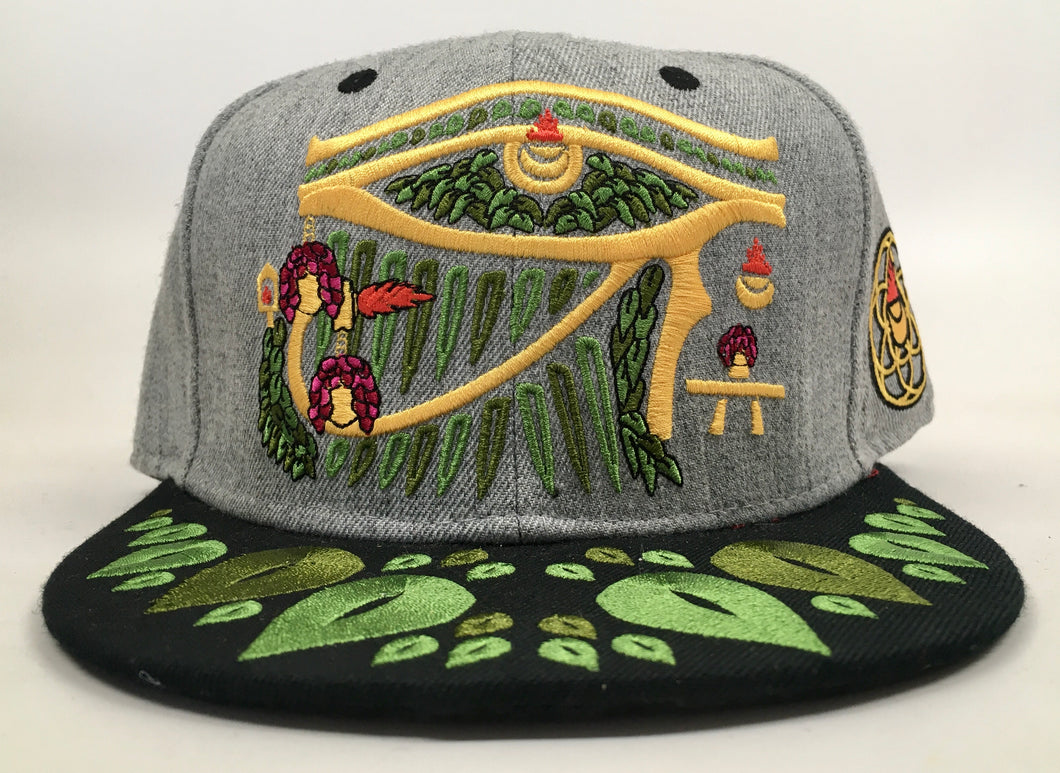 Temple of Rah Hat (Vintage, Missing Top Button, Size 7 3/8)