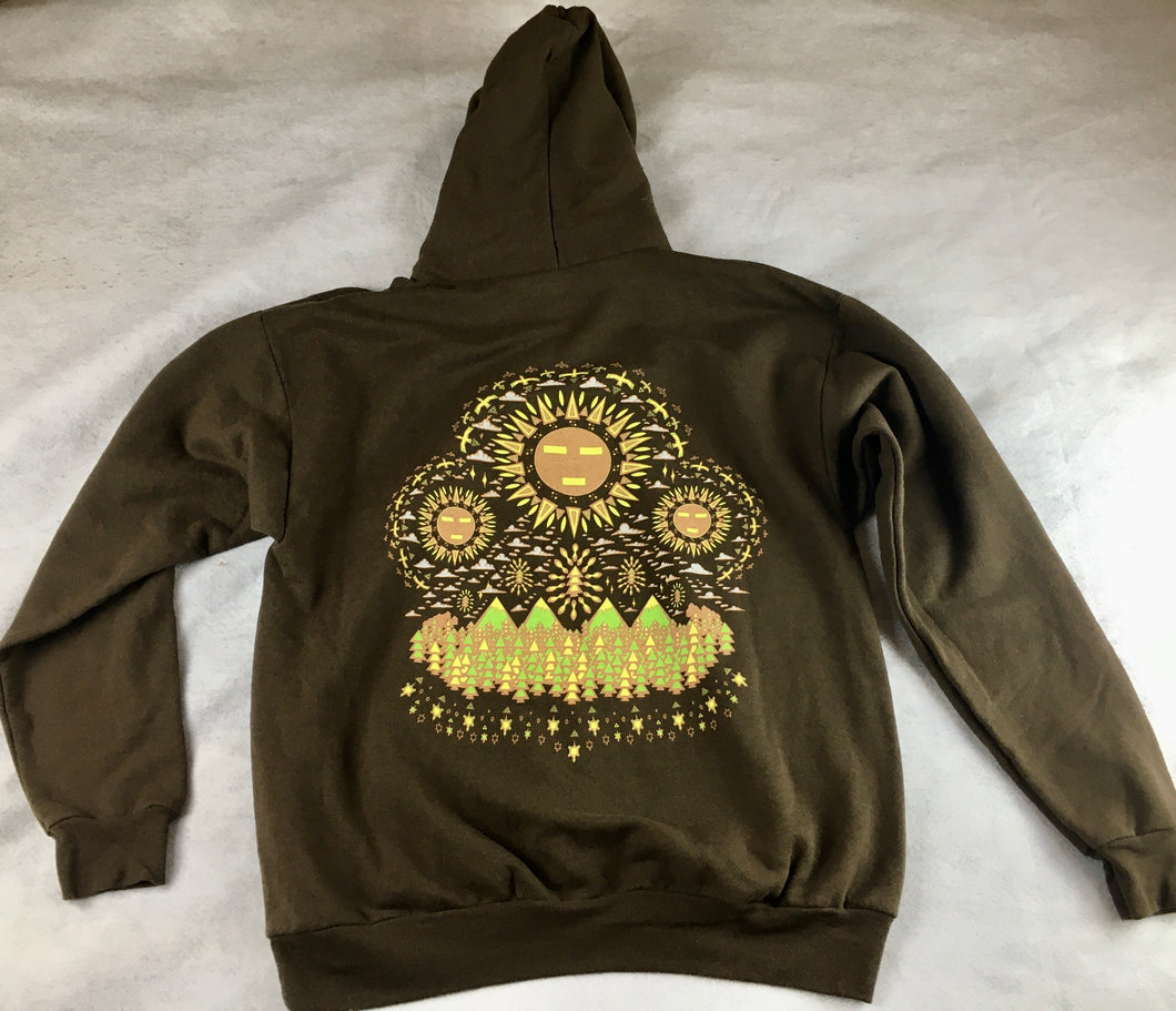 Spirit Guide Hoodie (Large, Brown, Vintage 2015)