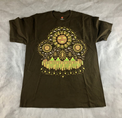 Spirit Guide Shirt (Brown, Small, Vintage 2012)