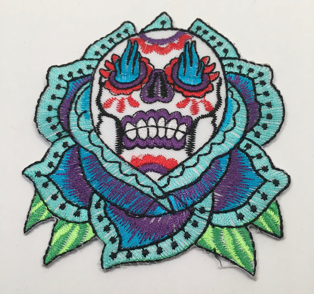 Lotus Skull Patch (Vintage 2012)