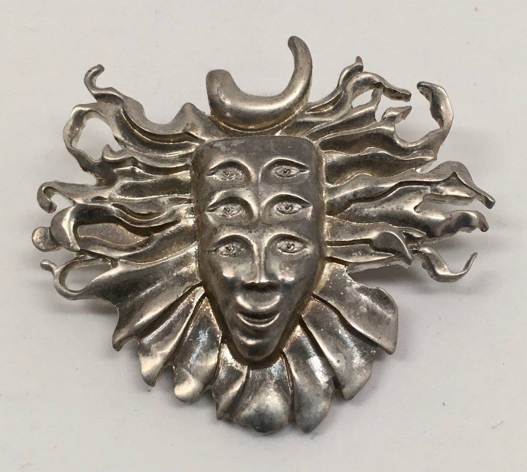 Shpongle Pin (Silver, Vintage 2011)