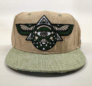Flying Third Eye Hat (Size 7 5/8)
