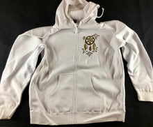 Dreamcatcher Hoodie (Zip-Ups, Dye At Home, White, Vintage 2013)