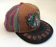 [Pre-order] Shamanic Visions Hat (Hemp / Brown / Strapback)