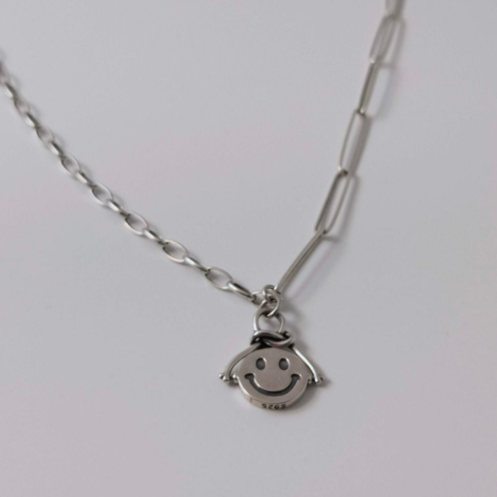 Emoji Smiley Face Necklace