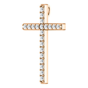Cross Diamond Pendant
