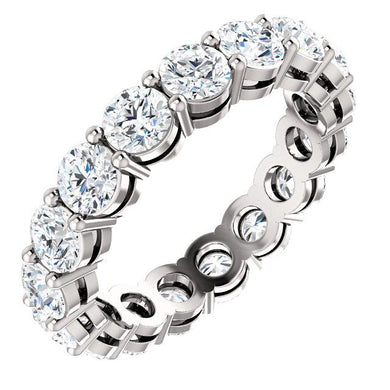 4.25ct Round Brilliant Diamond Eternity Band