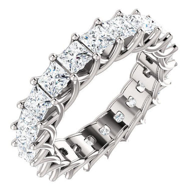 5.25ct Princess Diamond Eternity Band