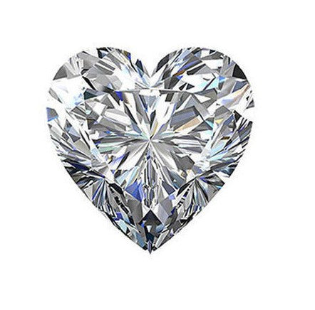 1.00ct H VS2 Heart Lab Created Diamond