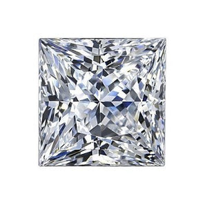 2.01ct F VS1 Princess Lab Created Diamond