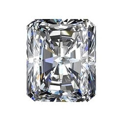 1.00ct E SI1 Radiant Lab Created Diamond