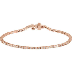 1.60ct Claw Set Tennis Bracelet