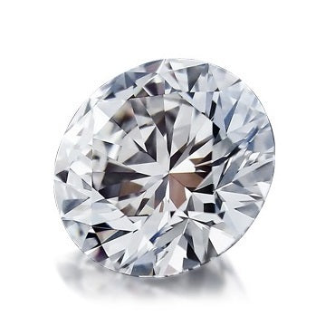 0.50ct F VS2 Round Brilliant Lab Created Diamond