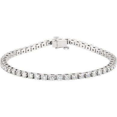 3.50ct Claw Set Tennis Bracelet