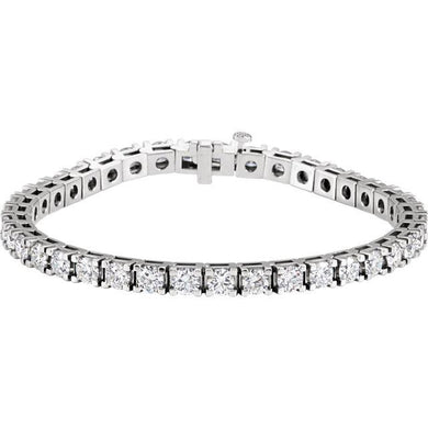 9.25ct Claw Set Tennis Bracelet