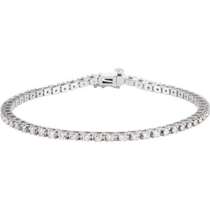 2.30ct Claw Set Tennis Bracelet