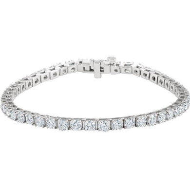 7.00ct Claw Set Tennis Bracelet