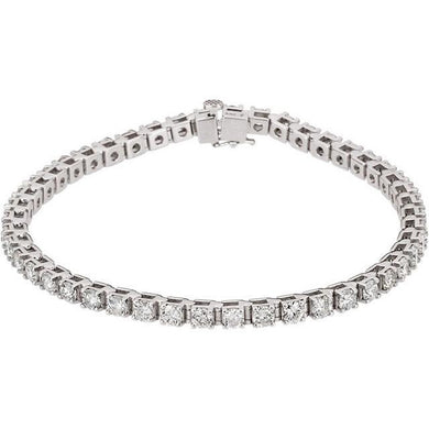 4.50ct Claw Set Tennis Bracelet