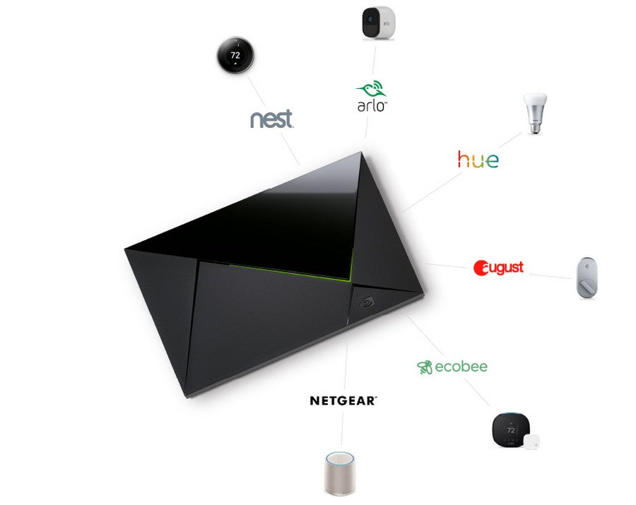 NVIDIA SHIELD Android TV 4K HDR Streaming Media Player; High Performance, Dolby Vision, Google Assistant Built-In, Works with Alexa - smart home