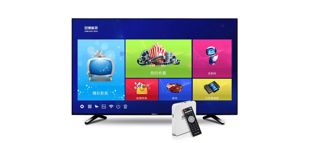 IMARTCITY, Unblock Tech, UBox PROS, Generation 7, TV Box, Hong Kong Edition, Free TV programs, Watch Movies,  Ultra Simple & Easy To Use