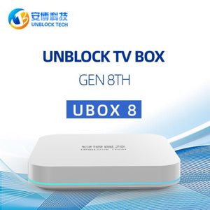 UNBLOCK Tech - UBox Gen 8 Super TV Box
