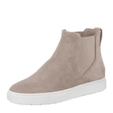 Charmystery Casual High Top Suede Sneakers