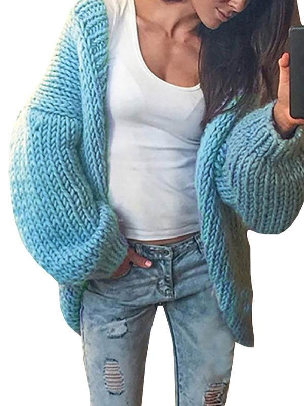 Charmystery Winter Warm Woven Cardigan